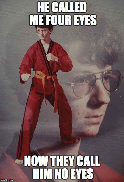 comical Karate Kyle memes