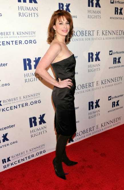 diane neal red carpet