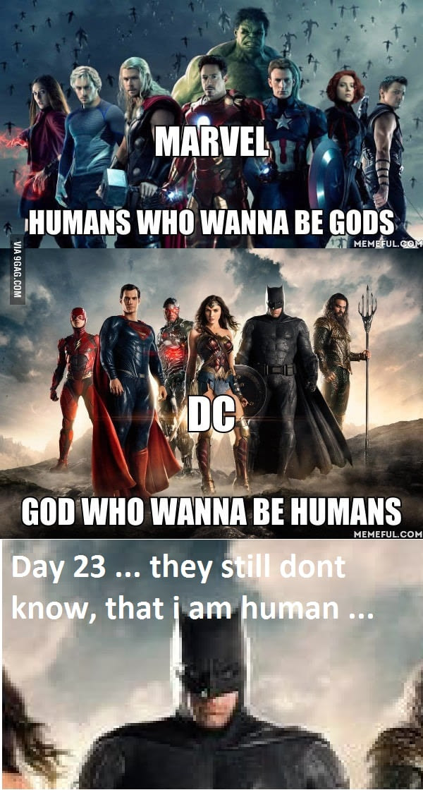 droll, Avengers Vs Justice league memes