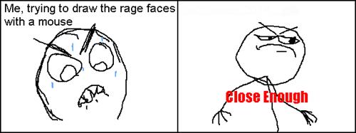 droll, Close Enough memes