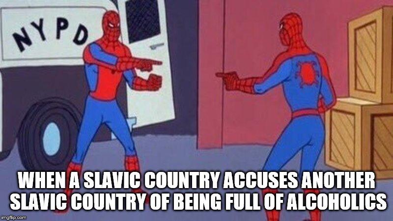 droll, Spider-Man Pointing at Spider-Man memes