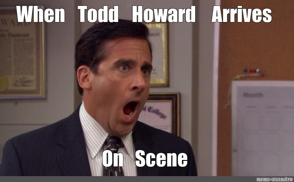 droll, Todd howard memes