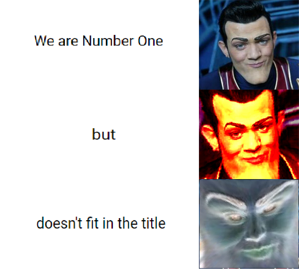 entertaining We Are Number One memes