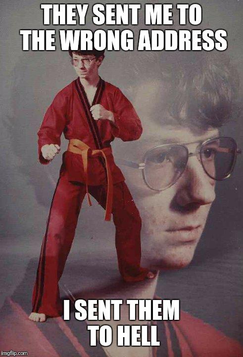 high-spirited Karate Kyle memes