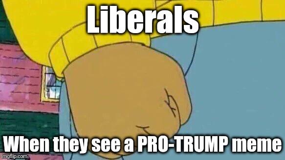 humorous Arthur's Fist memes