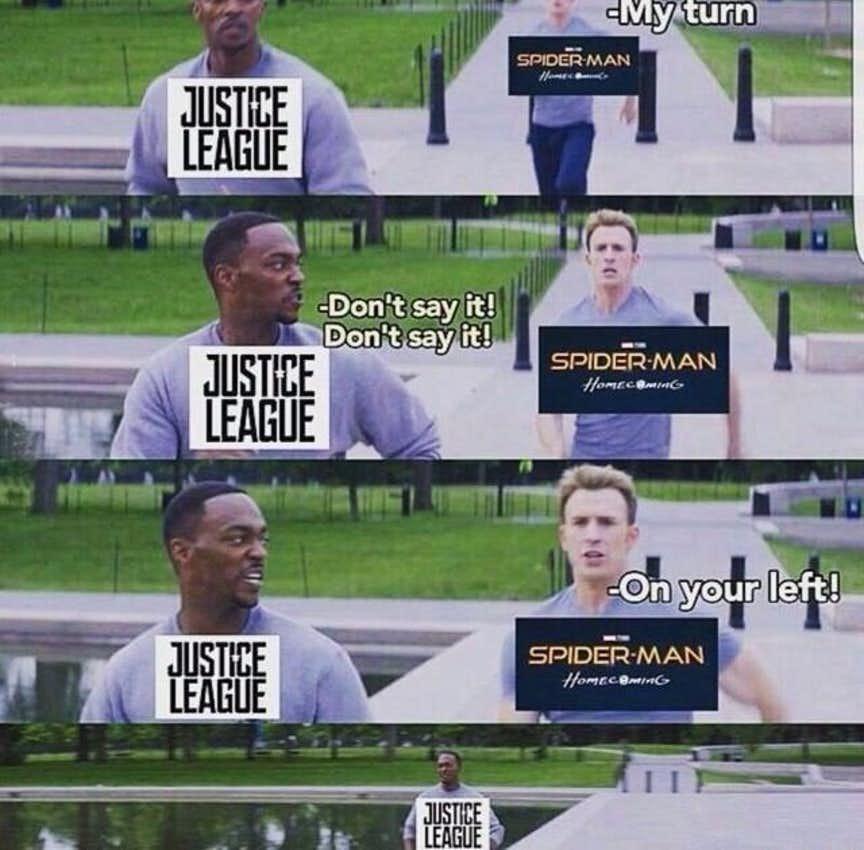 humorous Avengers Vs Justice league memes