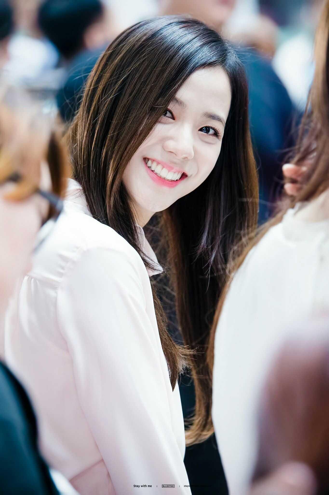 jisoo smile
