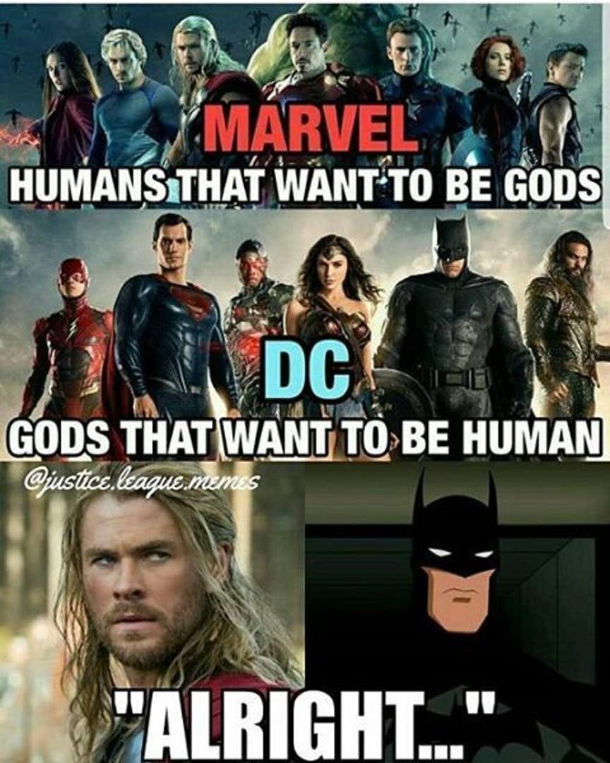 jolly Avengers Vs Justice league memes