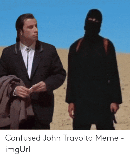 jolly Confused Travolta memes