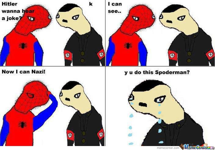 laughable Spoderman memes