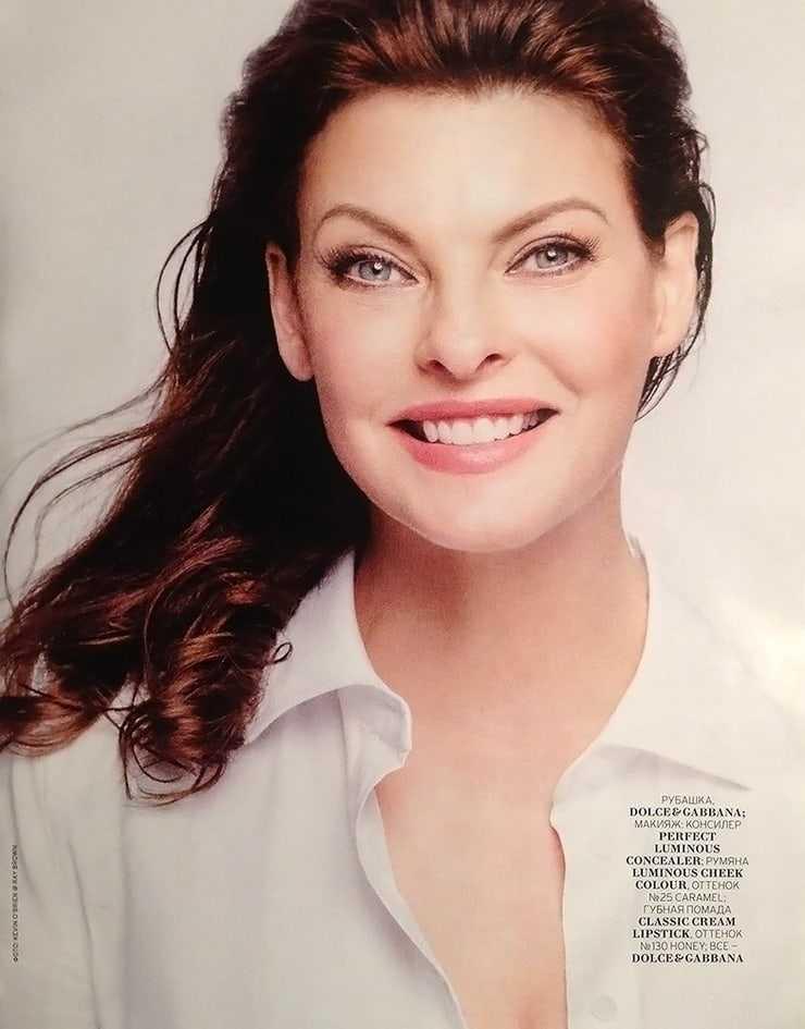 linda evangelista gorgeous