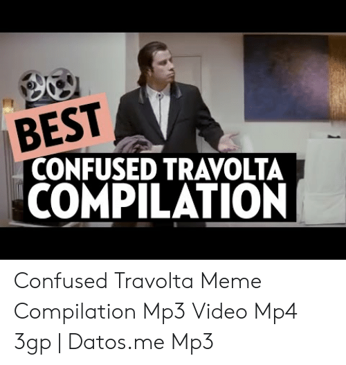 lively Confused Travolta memes