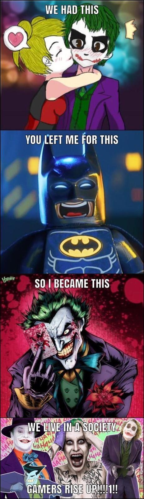 lively Gamer Joker Gamers Rise Up memes