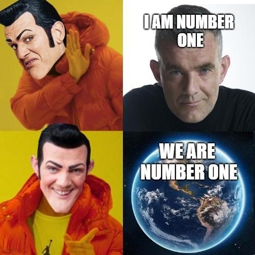 lively We Are Number One memes