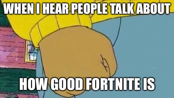 rib-tickling Arthur's Fist memes