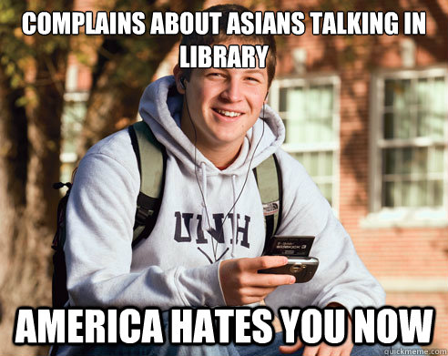 rib-tickling Asians in the Library memes