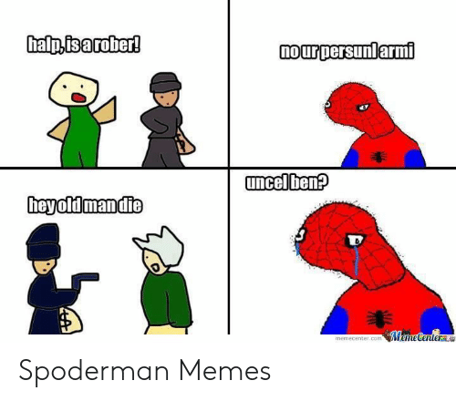 rib-tickling Spoderman memes