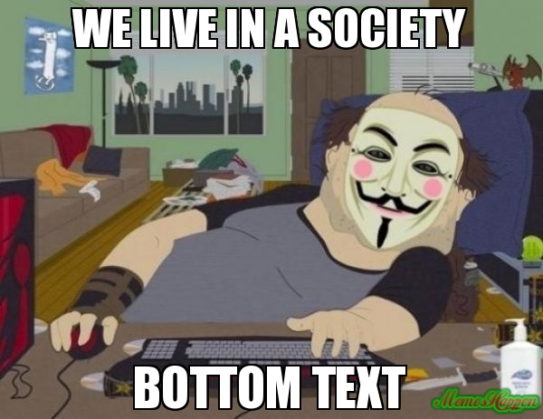 rib-tickling We Live In a Society memes