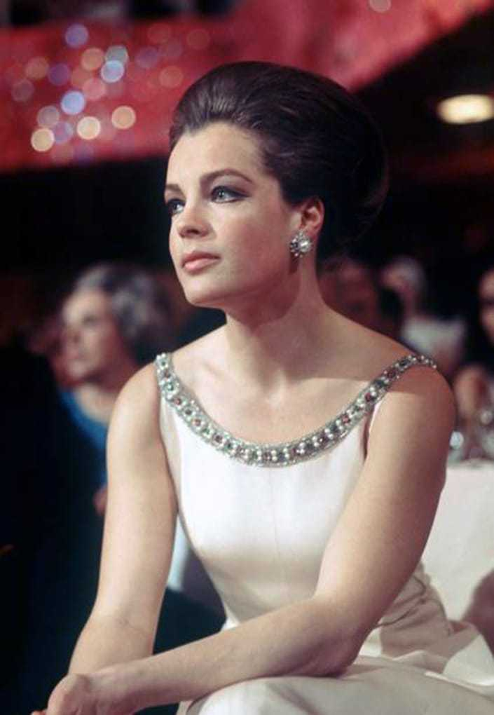romy schneider awesome look