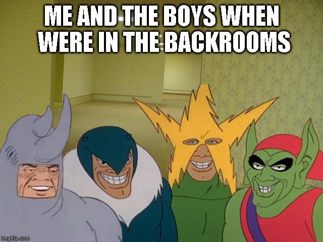 sparkling The Backrooms memes