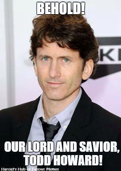 sparkling Todd howard memes
