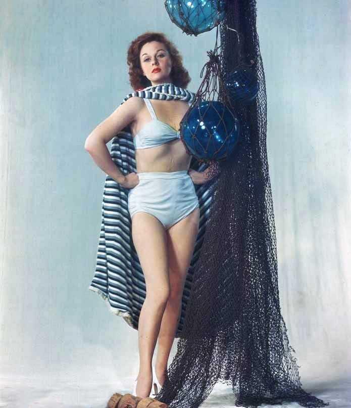 susan hayward bikini