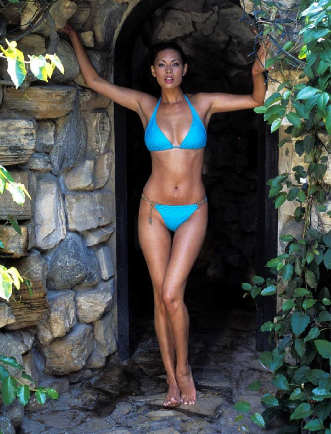 tera patrick blue bikini