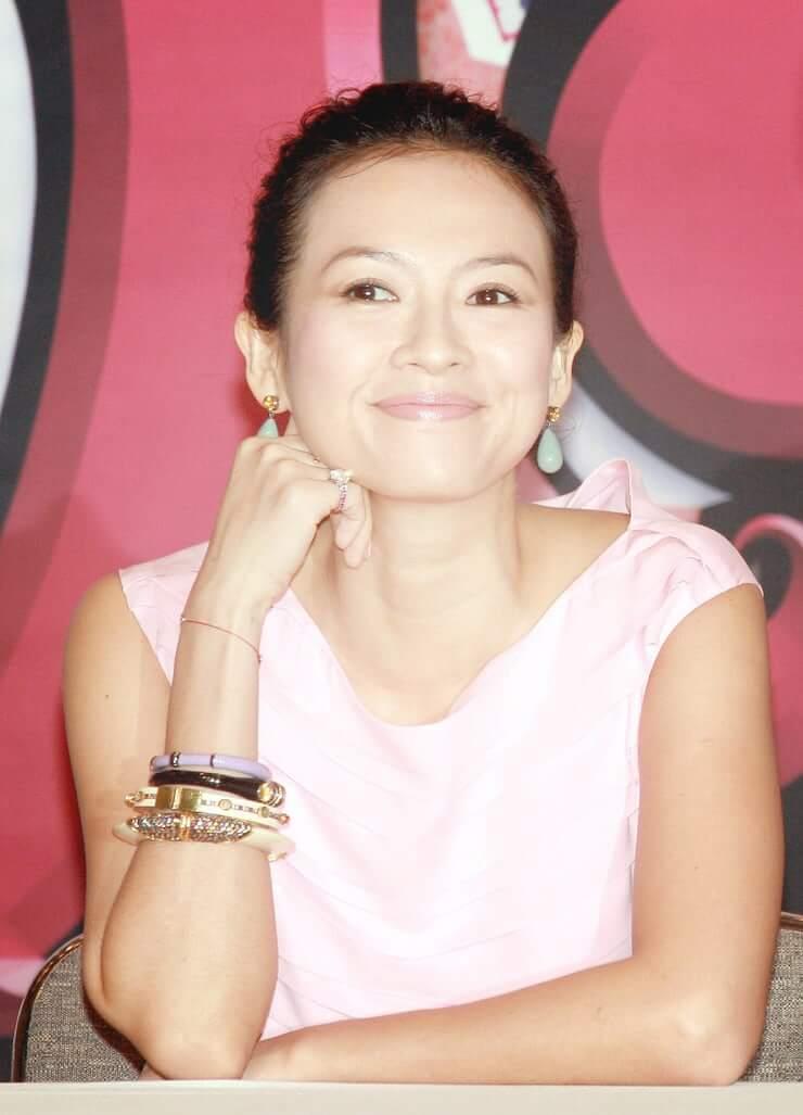 ziyi zhang cute smile