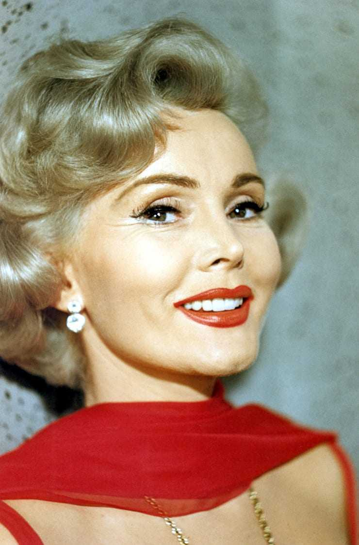 zsa zsa gabor cute smile