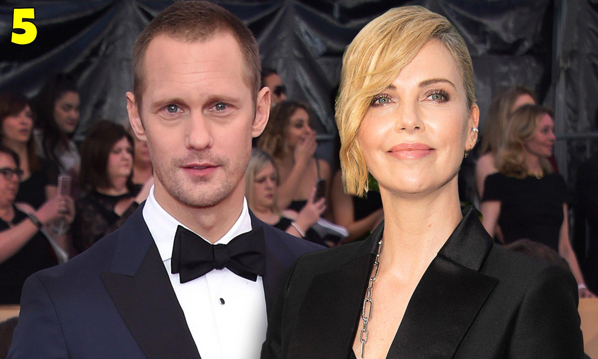 Alexander Skarsgård and Charlize Theron Dating