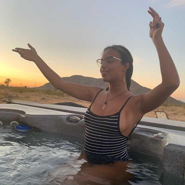 Alisha Boe swimsuit