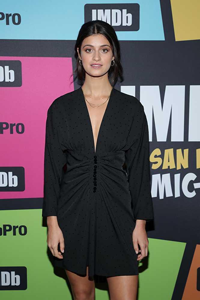 Anya Chalotra sexy black dress