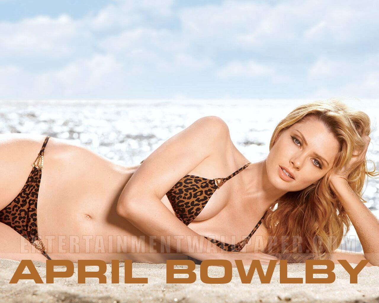 April Bowlby boo bs cleavage