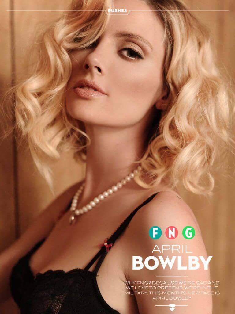 April Bowlby lips