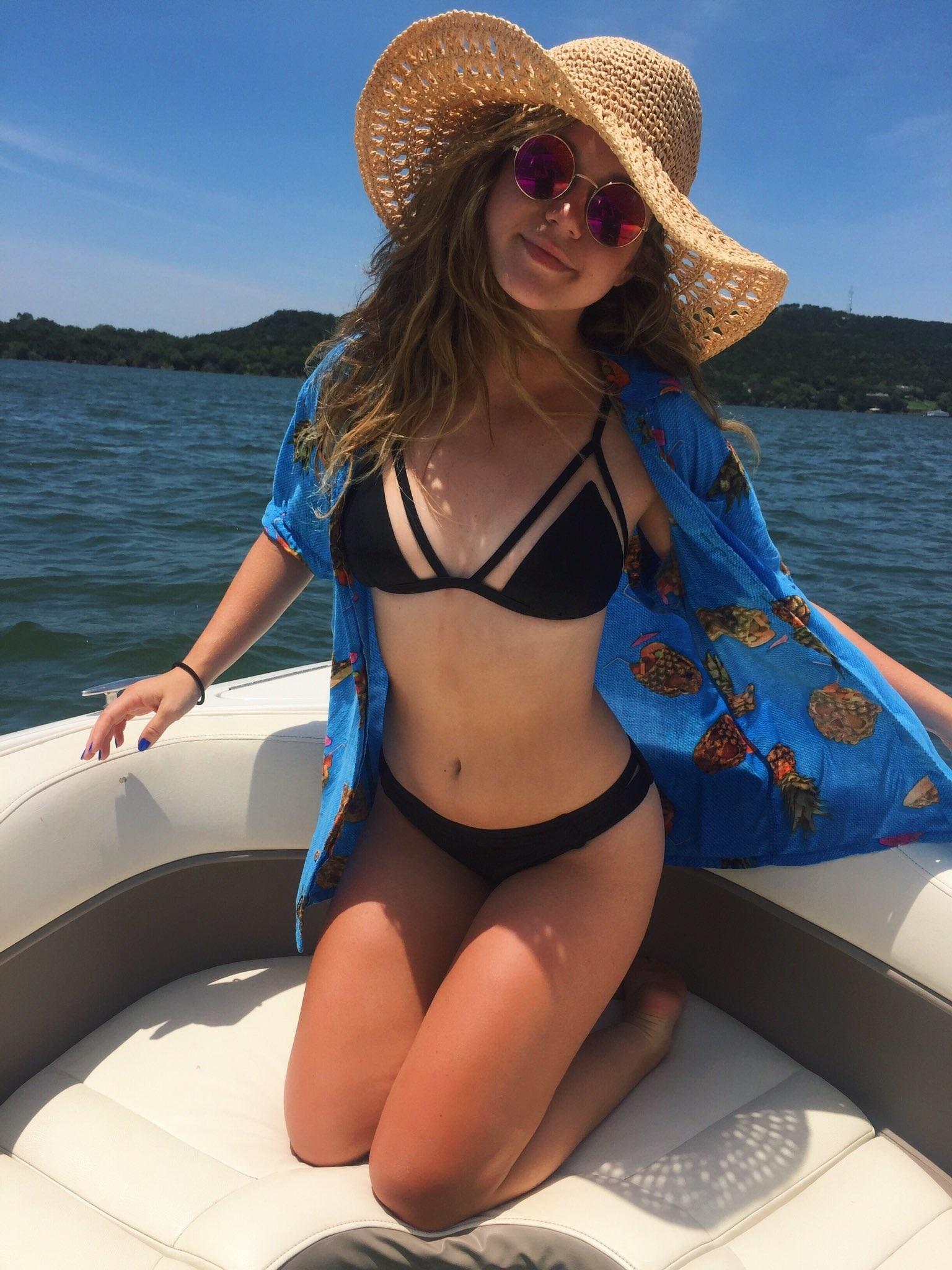 Brec Bassinger tits