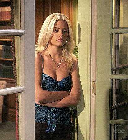 Bree Williamson hot cleavage