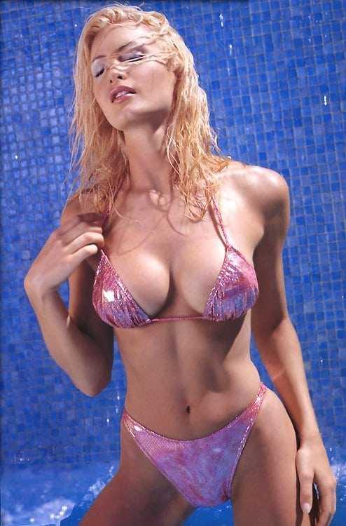Caprice Bourret big boobs