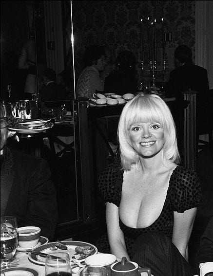 Carol Wayne hot cleavage