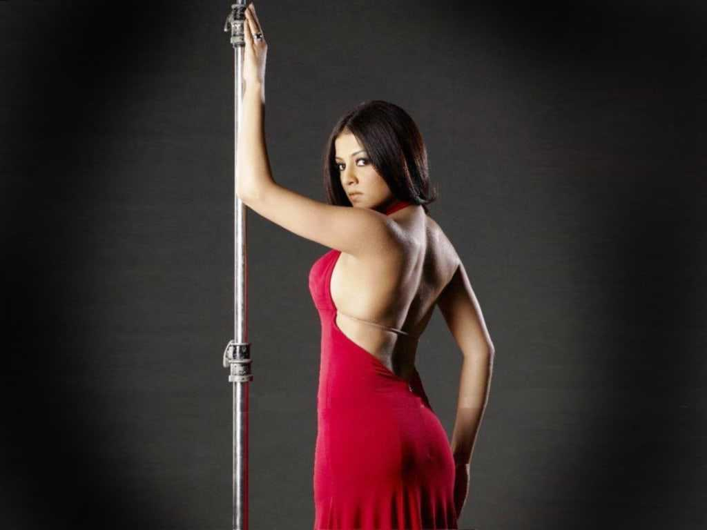 Celina Jaitly backless