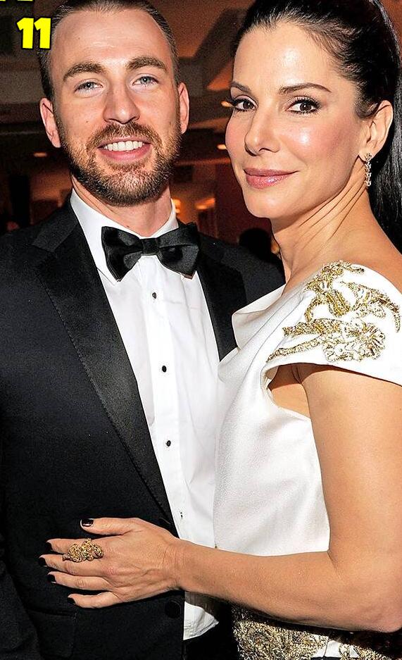Chris-Evans-And-Sandra-Bullock-Dating