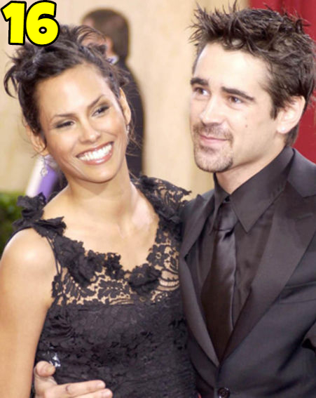 Colin Farrell And Kim Bordenave Dating