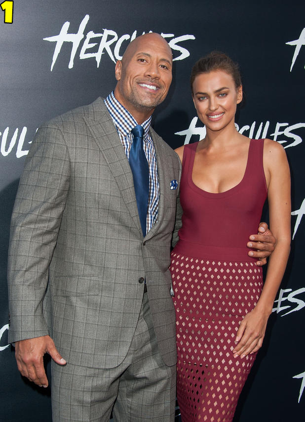Dwayne Johnson And Irina Shayk Dating