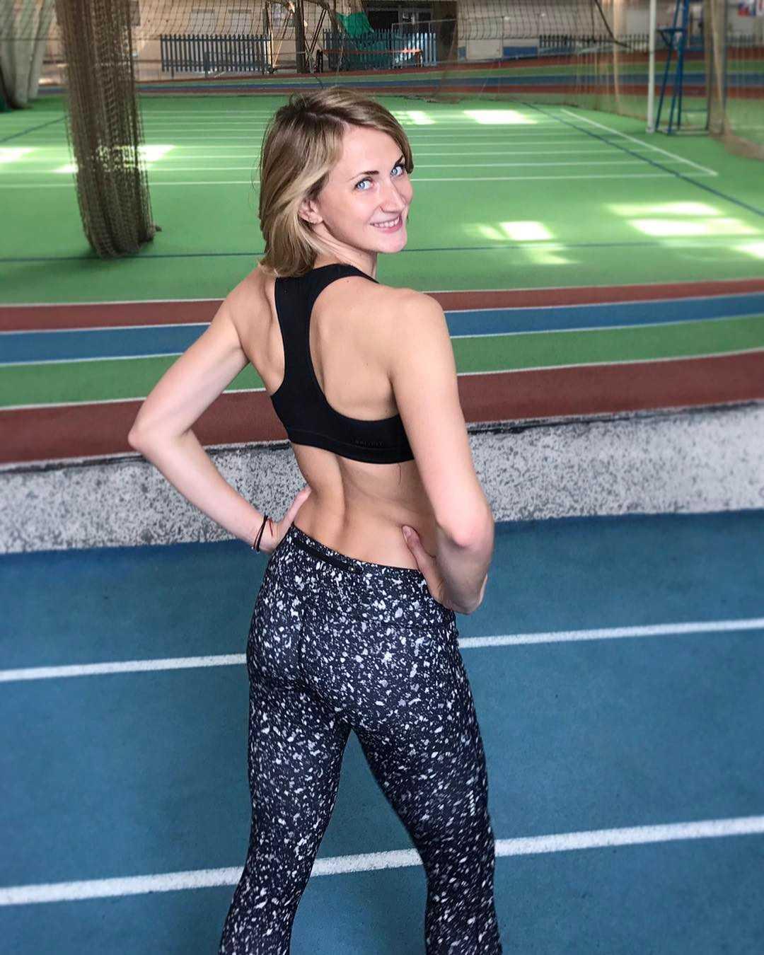 Ekaterina Poistogova sexy butt pic