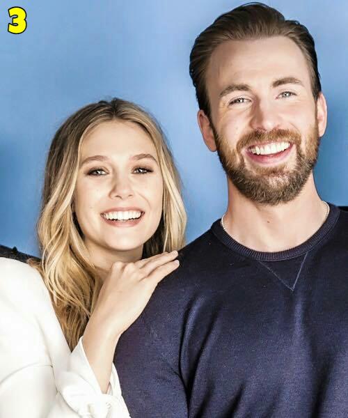Elizabeth Olsen And Chris Evans Dating