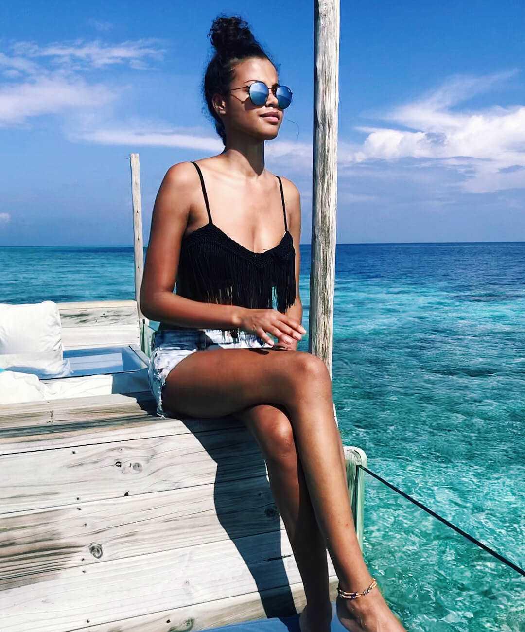 Ella Balinska hot bikini
