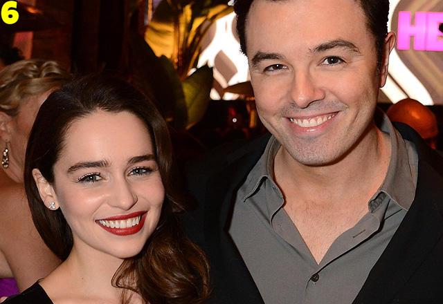 Emilia Clarke And Seth MacFarlane Dating