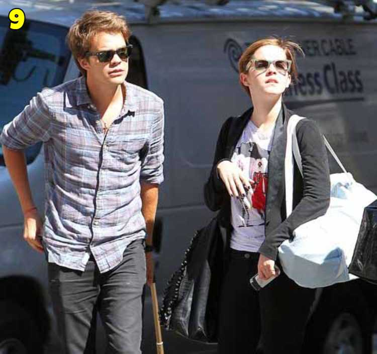 Emma Watson And Johnny Simmons Dating