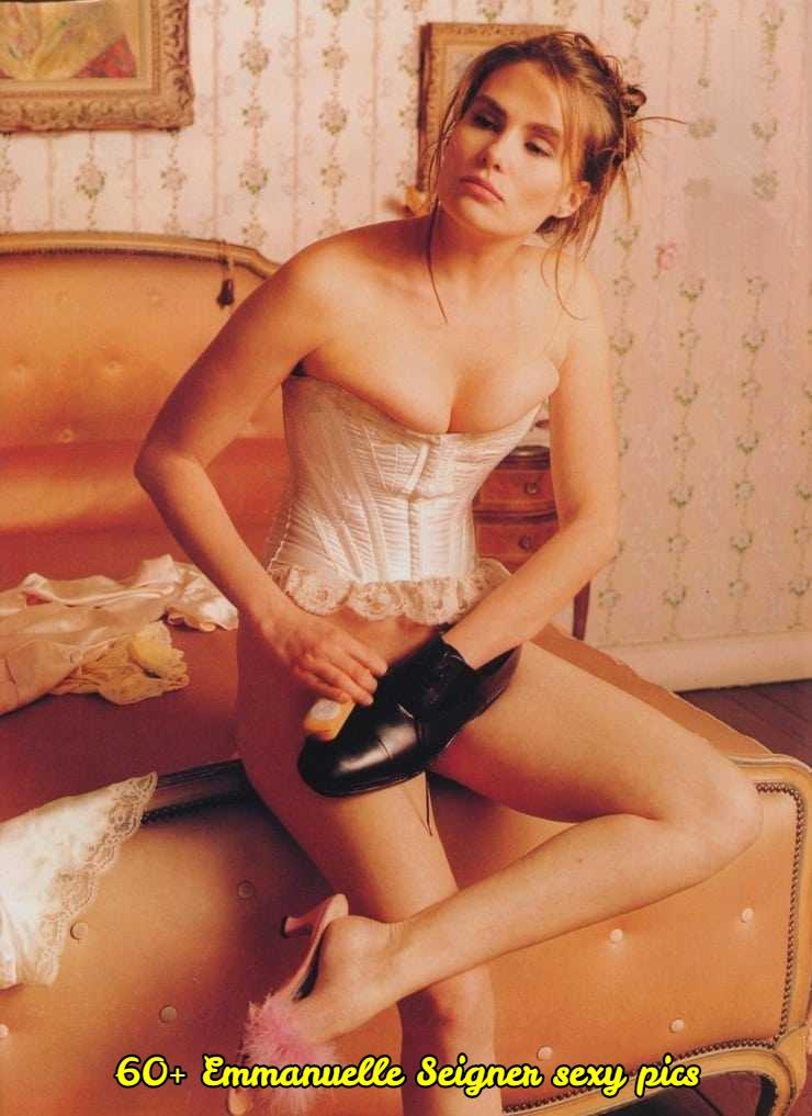 Emmanuelle Seigner sexy pic