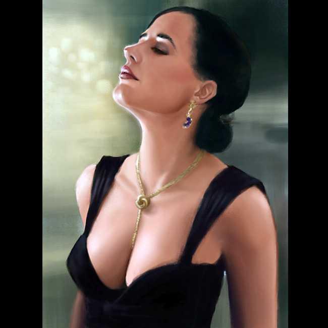 Eva Green hot cleavage