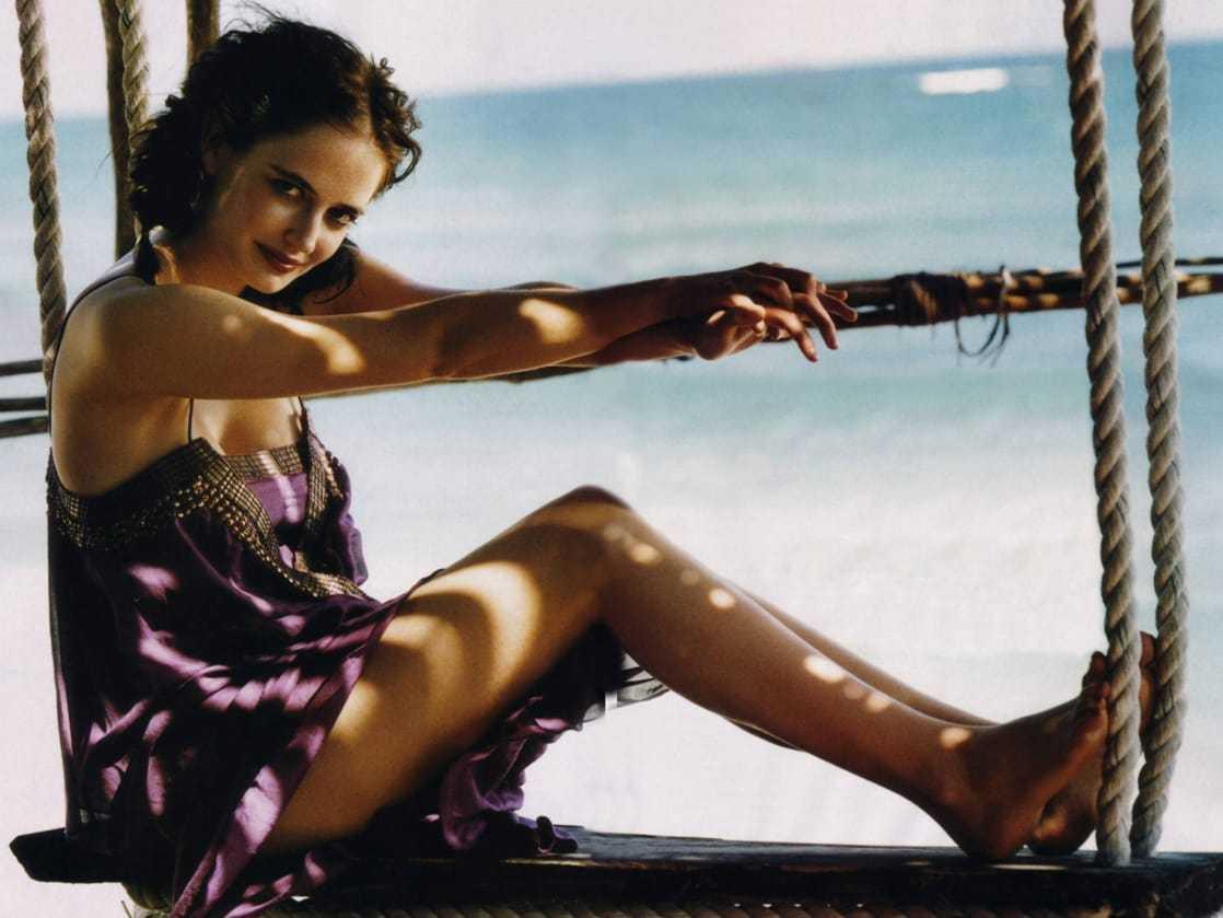Eva Green sexy feet